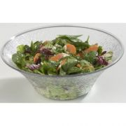 Carlisle Clear Acrylic Pebbled Bell Bowl, 14 inch -- 1 each.