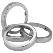 San Jamar EZ Fit Chrome Finish Ring Only - for C2210C EZ Fit Cup Dispensers, 2 per pack -- 1 pack per case