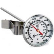 San Jamar Instant Read Large Dial Thermometer, 1.75 x 1.75 x 6 inch -- 1 each.