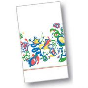 Dinex Celebration Design 2 Ply Decorative Paper Holiday  Dinner Napkin, 15 x 17 inch -- 100 per case.