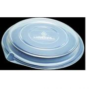 Dinex Polystyrene Clear Dome Lid for 7 inch Round Bowl -- 300 per case.