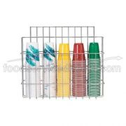 Dispense Rite WR Wire Cup Caddy, 19 x 22 x 5 1/2 inch -- 1 each.