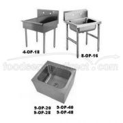 Stainless Steel Economy Mop and Service Sink Model 4-OP-18 -- 1 each.