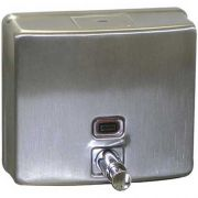 Stainless Steel Soap Dispenser for Advance Tabco Utility Sink -- 1 each.