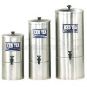 Cecilware S Series Stainless Steel Iced Tea Dispenser, 9.25 inch Diameter x 18.75 inch -- 1 each.