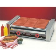 Nemco Food Equipment Slanted 36 Hot Dog Silverstone Roller Grill, 220 Voltage -- 1 each.