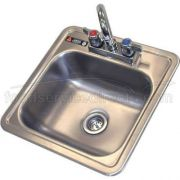 Aero 304 Stainless Steel NSF Hand Sink, 15 x 15 x 5 inch -- 1 each.