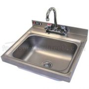 Aero 304 Stainless Steel NSF Hand Sink, 14 x 18 x 13 3/4 inch -- 1 each.