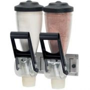 Server Double Dry Food Dispenser, 13.562 x 9.687 x 6.312 inch -- 1 each.
