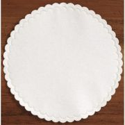 Hoffmaster 305-W Specialty Sanitary White Round Coasters Cellulose, 4 inch -- 1000 per case.