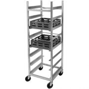 Channel Manufacturing Aluminum 8 inch Spacing Glass Rack, 70 x 24 x 22 inch -- 1 each.