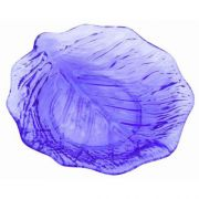 Blue Thunder Group Acrylic Leaf Plate, 9 inch -- 12 per case.
