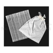Kal Pac Corporation Polydraw Tape Handle Merchandise Bag - White, 16 x 18 x 3 inch -- 1000 per case.