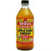 Bragg Organic Raw Apple Cider Vinegar, 16 Ounce -- 12 per case.