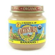 Earths Best 2nd Stage Organic Banana Fruit, 4 Ounce -- 10 per case