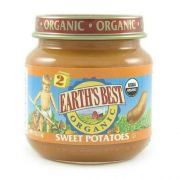 Earths Best 2nd Stage Organic Sweet Potato Vegetable, 4 Ounce -- 12 per case.