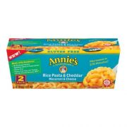 Annies Homegrown Rice Pasta and Cheddar Microwavable Mac and Cheese Cup, 4.02 Ounce -- 6 per case