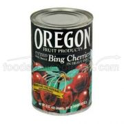 Oregon Fruit Pitted Dark Sweet Cherries in Syrup, 15 Ounce -- 8 per case