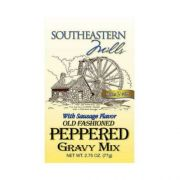 Southeastern Mills Old Fashion Pepper with Sausage Gravy Mix, 2.75 Ounce -- 24 per case.