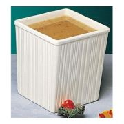 Bon Chef Space Saver Salad Dressing Container, 6 x 6 x 7 inch -- 3 per case.
