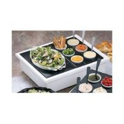Black Bon Chef Sandstone Double Size Insulated Ice Station, 29 3/4 x 24 1/4 x 7 3/4 inch -- 1 each.