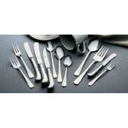 Fork, 3-Tine Salad Queen Anne Flatware, 18 Percent Chrome Stainless Steel -- 12 Per Case