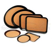 Tray Cork-Lined Laminated Oval 23 X 28 Inch -- 6 Per Case