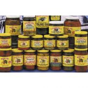Mancini Roasted Yellow Pepper Strips - 48 oz. can, 12 cans per case
