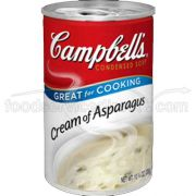 Campbells Condensed Cream of Asparagus Soup - 10.75 oz. can, 12 per case