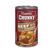 CHUNKY Beef With Country Vegetables Soup - 18.8 oz. can, 12 per case