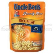 Uncle Bens Ready Rice Pilaf -- 12 per case.
