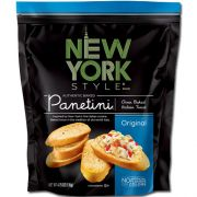 Nonnis New York Style Hole Punch Garlic Parmesan Panetini Paunches, 4.75 Ounce -- 12 per case.