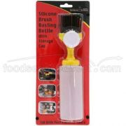 Mr Bar B Q Silicone Brush Basting Bottle with Cap -- 6 per case.