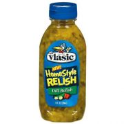 Pinnacle Foods Vlasic Homestyle Dill Pickle Relish, 9 Ounce -- 12 per case.