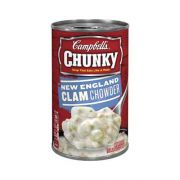 CHUNKY New England Clam Chowder - 18.8 oz. easy open can, 12 per case