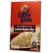 Uncle Bens Instant Brown Rice, 14 Ounce -- 12 per case.