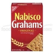 Nabisco Grahams Original Cracker, 14.4 Ounce -- 12 per case.