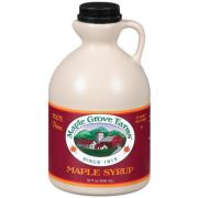 Maple Grove Farms Dark Amber Syrup, 32 Ounce -- 12 per case.