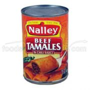 Nalley Beef Tamale, 15 Ounce -- 12 per case.
