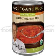 Wolfgang Puck Organic Classic Tomato with Basil Soup, 14.5 Ounce -- 12 per case.