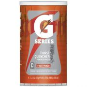 Gatorade G Series Perform Fruit Punch Sports Drink Powder, 9.8 Ounce -- 8 per case.