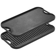 Lodge Cast Iron Reversible Grill Griddle, 20 x 10.44 inch -- 1 each.