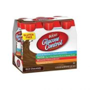 Boost Glucose Control Rich Chocolate Nutritional Drink, 8 Fluid Ounce - 6 per pack -- 4 packs per case.