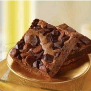 Sweet Street Fabulous Chocolate Chunk Brownie, Unsliced, 3 Pound -- 4 per case.
