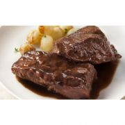 Cuisine Solutions Seared Beef Short Ribs with Red Wine Sauce, 7.8 Ounce -- 40 per case.