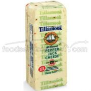 Tillamook Set Weight Pepper Jack Cheese, 8 Ounce -- 12 per case.