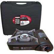 Hollowick 9,000 BTU Butane Stove with Carrying Case, 13 1/2 x 11 1/2 x 5 inch -- 1 each.
