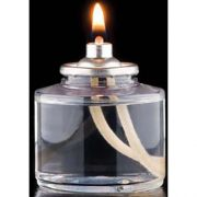Hollowick 26 Hour Liquid Wax Candle Fuel Cell, 2 1/4 inch Height x 2 inch Dia -- 72 per case.