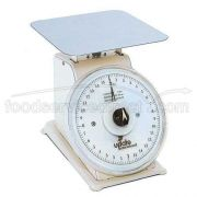 Update International Stainless Steel Body Food Scale, 7 inch Rotating Dial -- 1 each.