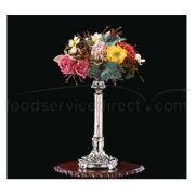 Apex Fountain Regency Bright Heavy Nickel Finish Floral Stand, 19 inch Height -- 2 per case.